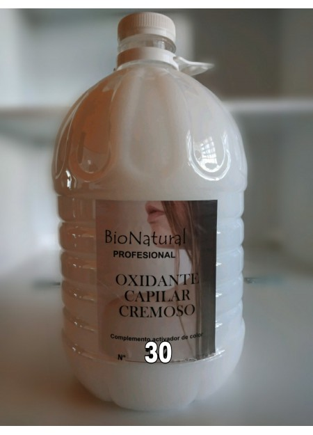 Oxidante BIO NATURAL - 5L (30 VOLÚMENES)