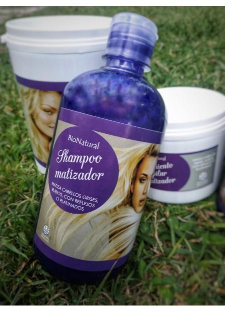 Shampoo Matizador - BioNatural - 1L